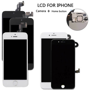 For iPhone 6 6s 6s Plus LCD Screen Touch Replacement Home Button with Camera UK