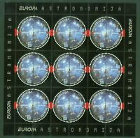 Kroatien Croatia 2009 - Europa CEPT - Astronomie - Kleinbogen - Nr. 905-06 KB **