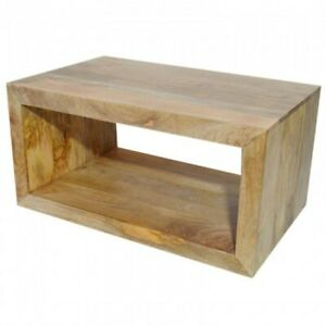 Contemporary Boston Coffee Table Natural (MADE TO ORDER)