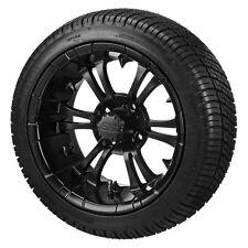 (4) ITP 14 SS LSI HD Aluminum Alloy Golf Cart Car Rim Wheels & 205-30-14 Tires