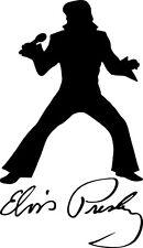 "Elvis Presley Signature 5"" x 8"" Vinyl Decal Sticker Car Wall Art Laptop Boat Van"