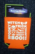 New Halloween Glow In The Dark drink can Koozie cup coolers beverage holder