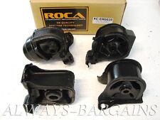 ROCAR Engine Mount Motor Transmission Mount Bushing Honda Prelude 92-96 Auto