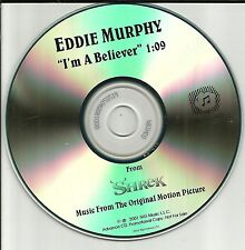 EDDIE MURPHY I'm A Believer MONKEES Remake Cover Trx PROMO DJ CD single SHREK