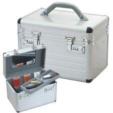 BEAUTY CASE COSMETIC CASE VANITY CASE Aluminium silver