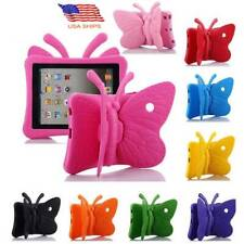 For Apple iPad 3D Butterfly Children Kids Safe Shockproof Foam Case Stand Cover