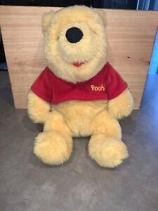 Winnie the Pooh, 1997 Plush Stuffed Animal, Mattel, Disney, Vintage Disneyana
