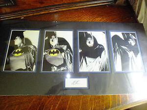 Batman: No Man's Land Print Set by Alex Ross Signed by Alex Ross