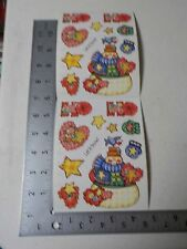 PROVO CRAFT HO HO CHRISTMAS SNOWMAN STICKERS SCRAPBOOKING NEW A2672