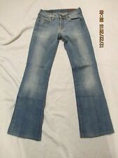 CITIZENS OF HUMANITY jeans KELLY#001 size 24 low waist BOOTCUT made in the USA