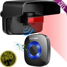 Entrada De Auto Alarma physen Aire Libre Impermeable Wireless Sensor De Movimiento Detector CBD