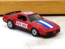 VINTAGE CORGI 1983 Pontiac Firebird SE BOSTON RED SOX Baseball Collector Car Red