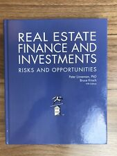 Real Estate Finance and Investments : Risks and Opportunities Linneman 5th Ed.
