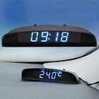 EEEKit 12V Digital LED Alarm Electronic Clock Car Thermometer Voltmeter Calendar