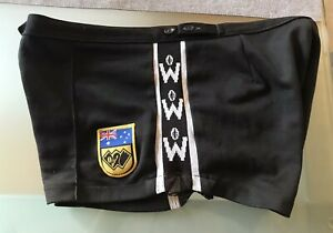 AFL WAFL SWAN DISTRICTS 1980s PLAYER SHORTS