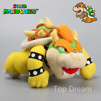 Nintendo Super Mario Bros Bowser King Koopa Plush Doll Soft Toy 11'' Teddy Gift