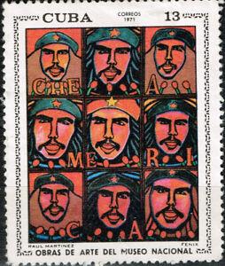 Carribians Revolutionary Leader Che Gevaro stamp 1971