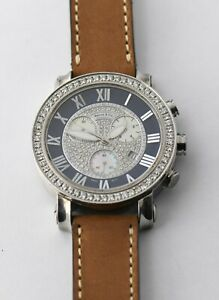 Benny & Co Diamond Watch ( Ice Dial ) 962104 - 2.9ct  AS IS -  NO RESERVE