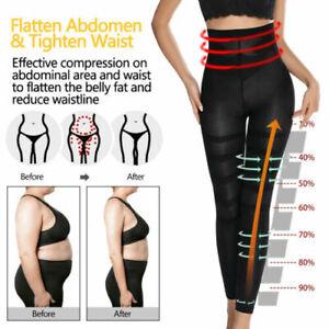 Damen Anti Cellulite Compression Sculpting Schlaf Hosen Legging Bauchweg Shapers