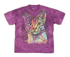"""The Mountain Abyssinian Cat Adult Xl 47"""" Short Sleeve T Shirt 2013 Dean Russo"""