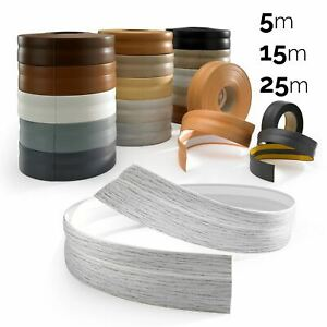 SELF-ADHESIVE Flexible Coved Skirting Board PVC Strip Floor Wall Joint
