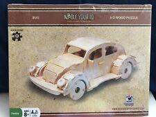 VW Bug 3-D Wood Puzzle