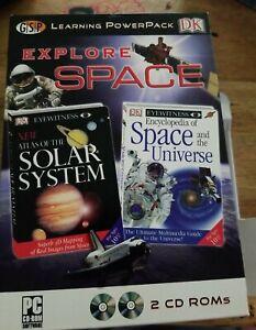 DK Explore Space Learning Powerpack Old Version/ Windows 95/98/2000/ME/XP