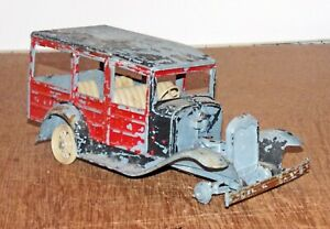 Vintage 1964 Hubley 1928 Model A Ford Woody Station Wagon 1:20 Model Built PARTS