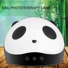 Panda 36W LED UV Lamp Nail Dryer Auto Sensor USB Charge Manicure Tool F. All Gel