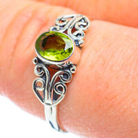Peridot 925 Sterling Silver Ring Size 9.25 Ana Co Jewelry R51958F