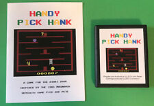 HANDY PICK HANK Atari 2600 VCS homebrew videogame Video Computer system game fun