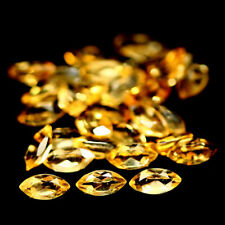 2.33 TCW 25Pcs Golden Yellow CITRINE Stone Marquise for Jewelry Setting LOT