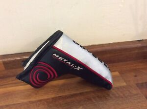 Odyssey Metal X Putter Cover Classic Blade Style