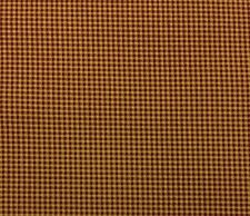 "WAVERLY CHECKED RUSTIC RED #D4032 Beige Multipurose Fabric BY THE YARD 54""W"