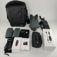 DJI Mavic Pro 4K Quadcopter Drone w/ Remote - Batteries, Case, Extras - Gray