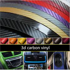 3D Car Styling Sticker Glossy Carbon Fiber Vinyl Car Waterproof WRAP phone wrap