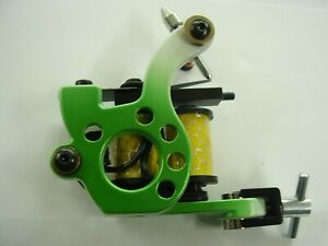 tattoo machines . green dial  liner, very sturdy machine ,set up ready