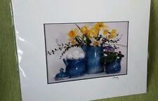 daffodils photo Still life matted country 8x10 james murphy Jonquil