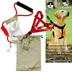 Voyager Best Pet Rope Leash and Harness Set - Small Up-To 22 lbs. (T)