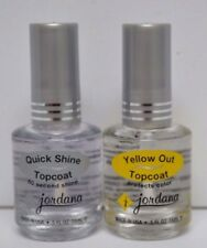NEW TOP COAT   Nail Polish Set of 2  JORDANA!