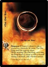 LoTr Tcg FoTr Fellowship Of The Ring The One Ring, The Ruling Ring Foil 1C2