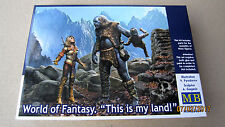 """World of Fantasy. """"This is my land!""""   1/24 Master Box #  24011"""