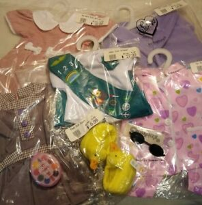"""New - 18"""" Play Doll Clothing and Accessories Lot #29(A) fits 18"""" American Girl"""
