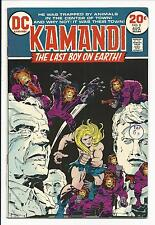 Kamandi, THE LAST BOY ON EARTH #8 ( Kirby Art, AUG 1973 ), VF