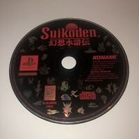 TESTED Original Suikoden Sony PlayStation 1 PS1 Black Label Disc Only Iconic RPG