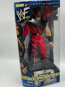 1999 Jakks Pacific WWE WWF Kane Wrestling Action Figure NEW IN BOX