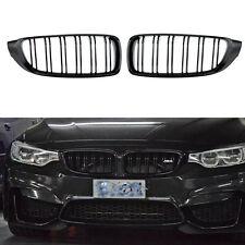 Front Kidney Grille Double Slat M4 Grill for BMW 4 Series F32 F33 F36 F82 Coupe