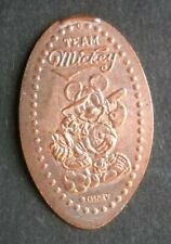 Team Mickey Mouse elongated penny Disney USA cent All Sports souvenir coin
