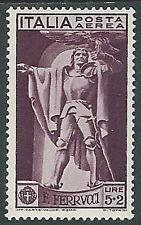 1930 REGNO POSTA AEREA FERRUCCI 5 LIRE MH * - Y057