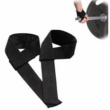 1PC Gym Training Weight Lifting Bar Grip Barbell Straps Wraps Wrist Protection